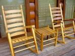 What good is rocker that's too small?  We have Plus Sized Rockers for some front porch sitting!