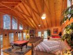 The Grandest Bedroom in the Smokies!