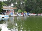 stowlake boat rental in Golden Gate Park