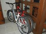 2 Bikes for guests to use