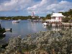 Hopetown, a short excursion boat ride from Treasure Cay