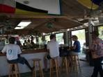 Coco Bar, restaurant at Treasure Cay beach, within easy walking distance from villa