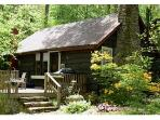 Spring is glorious and green at Creekstone Cabin!