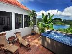 Windwardside Main House: views, spa. elegant & qui
