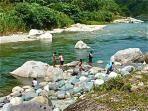 Swim in the Rio Cangrejal in front of the Lodge