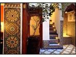 riad9:  Centrally Located, Chic + Intimate