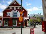 Ingolfstorg square - 3 min. walk from the apartment