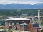 Pepsi Center for Sports and Concerts and 6 Flags Park