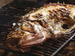 barbecue Adriatic fish