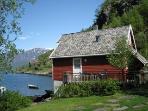 Fretheim Fjordhytter-cottages on the fjord in Flåm