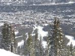 View from the Top of The Quick Silver Lift