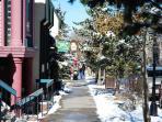 Historic Main Street Breckenridge just One Block away
