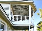 Upper floors have covered and screened in porches. Views of ships, Light Houses, Ocean, and Golf.