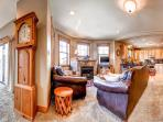 Rachel Lane Living Room Breckenridge Luxury Home Rentals