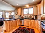 Rachel Lane Kitchen Breckenridge Luxury Home Rentals
