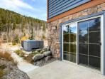 Rachel Lane Hot Tub Deck Breckenridge Luxury Home Rentals