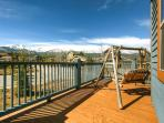 Rachel Lane Deck Breckenridge Luxury Home Rentals