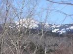 View of Mount Cardigan from the Deck