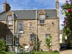 BANK VIEW, pet friendly, country holiday cottage, with a garden in Chirnside, Ref 3663