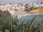 Carvoeiro from cliff
