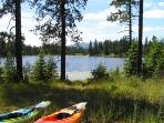 2 Kayaks and a Canoe included too!