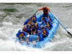 Rafting on nearby Snake River