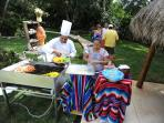 Mexican Pool Party with a la carte taco bar