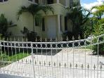 east pool entrance gate