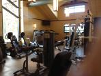 Fitness room in Grand Lodge