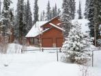 December Snow in Breck