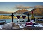 Luxury Accommodation in Queenstown at Bel Lago - entertaining with stunning views