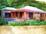 Coral Bay, St. John USVI Vacation Villa - Private view that only the birds can see - Mooncottage