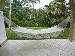 One of two hammocks