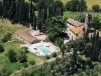 Castello San Savino Castle  rental in Monte Savino tuscany  italy