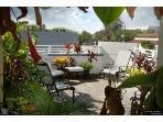 Enjoy the Garden Roof Top Deck view Water