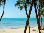 Soliman bay beach.