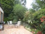 Kaori rear garden with BBQ