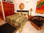 Seven Seas 4 master bedroom with a king bed. South Akumal