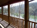 View of Lake Taneycomo from Our Deck