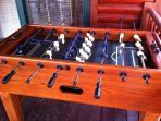 Solid Oak Foosball Table