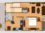 Floor Plans - Suite 201