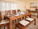 Dining room, there's place for up to 16 persons!