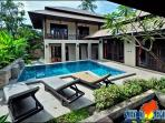villa and private pool