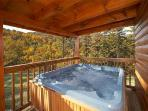 Hot Tub ~ Comfortable seating  4/6  people