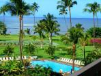 Maui Sunset is an oceanfront property in Kihei