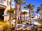 Resort Pool Deck & Gulf View