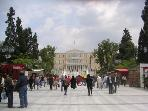 Syntagma square & parliament 5 mins walk from the flat