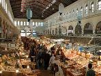 This amazing fish market is no more than 8 mins walk from our apartment!