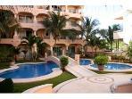 Quinta Maya B building 2nd pool