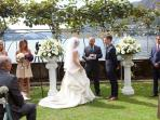 Gorgeous Weddingh at the Lake Como Beach Resort